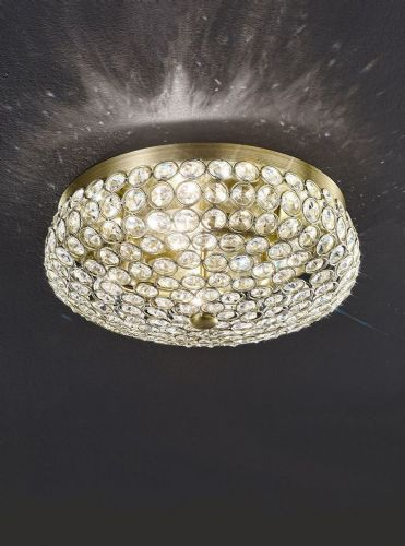 Franklite FL2276/4 Bronze Ceiling Light
